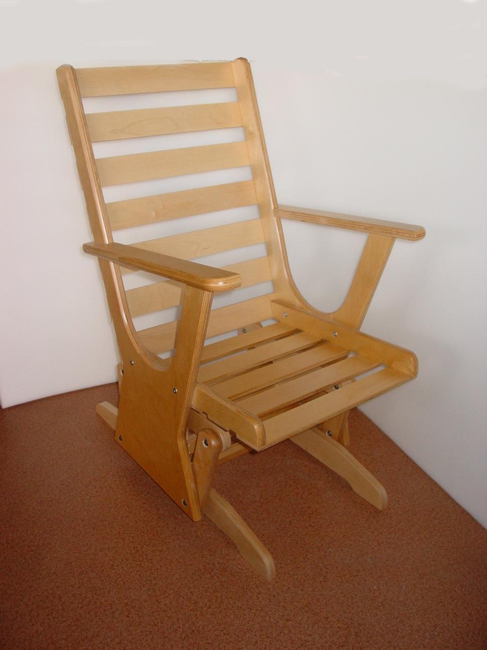 Кресло качалка скользящая своими руками